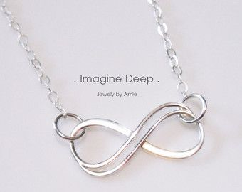 Choose Color Sterling Silver Lariat Y Necklace by ImagineDeep