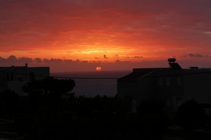 #sunrise #colours #Lindos #Greece #home <3