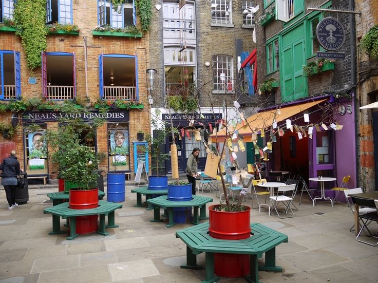 neal's yard (one my favorite parts of London)