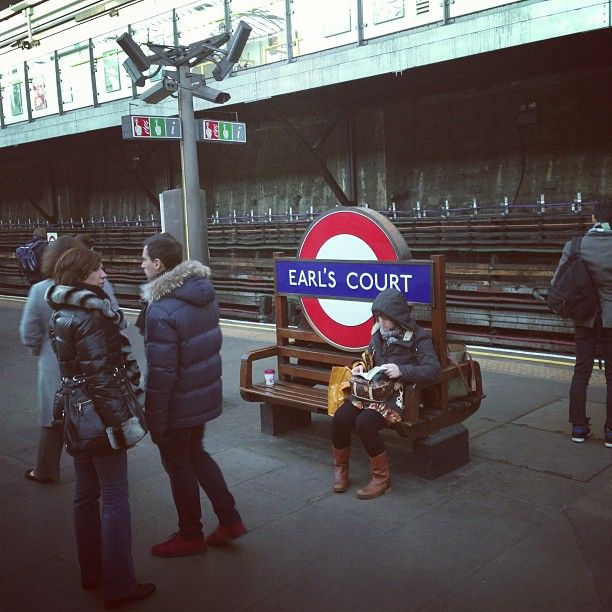 Earl's Court London Underground Station in Earls Court, Greater London