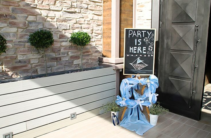Decoration for baby boy