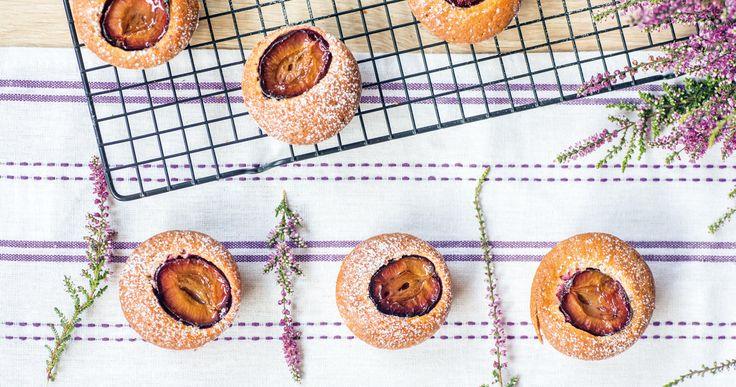 #cynamonowe #muffiny ze śliwkami. #cinamon #plums #muffins #delektujemy