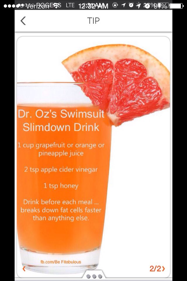 Dr Oz concoction, gonna give this a try!