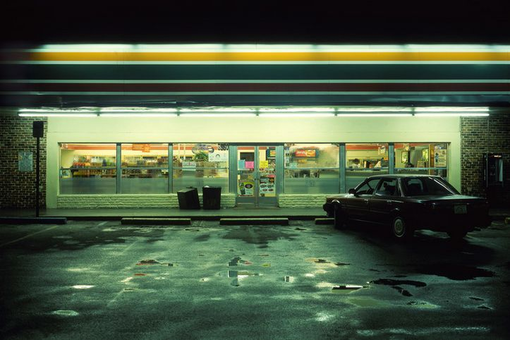 Glowing Night Photos of 24 Hour Convenience Stores by Harlan Erskine | Junkculture