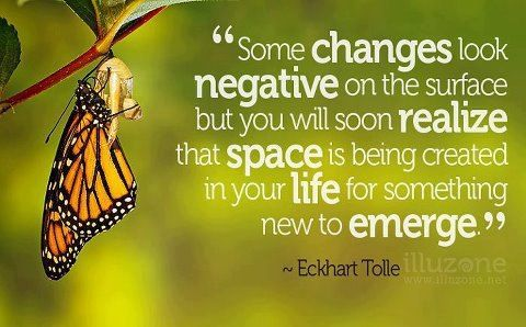 Change ~ Eckhart Tolle