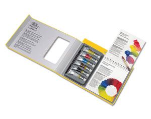 Winsor & Newton Galeria Acrylic Tips and Techniques Set