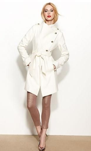 12 best Winter white coats images on Pinterest | White coats ...