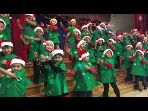 "Ms. B's JK Class Christmas Concert 2012 - ""The Happiest Christmas Tree"" - YouTube"