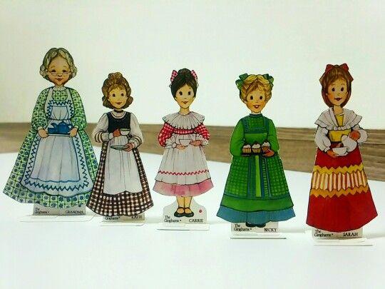 The Ginghams' Paper dolls, 종이인형, paper dolls, paper dolls