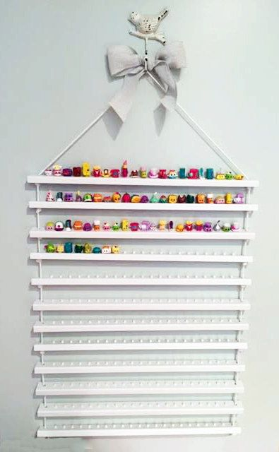 Shopkins Display Shelf Shopkins Shelves 12 by CactusHillCottage                                                                                                                                                                                 More