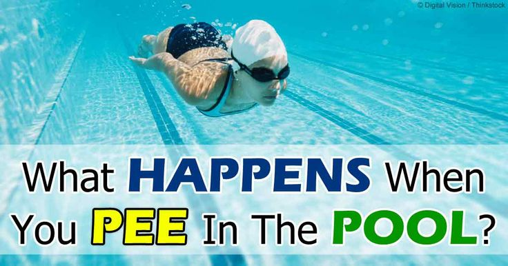 A survey revealed that 1 in 5 Americans admit they have peed in a pool. But what really happens when you pee in the pool? It's not the urine that is the problem… it's what happens when urine mixes with pool chemicals, including chlorine, that is catching researchers' attention.