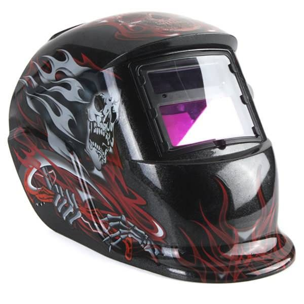 Slim Reaper Solar Auto Darkening Welding Helmet TIG MIG Grinding Mask  Worldwide delivery. Original best quality product for 70% of it's real price. Buying this product is extra profitable, because we have good production source. 1 day products dispatch from warehouse. Fast & reliable...