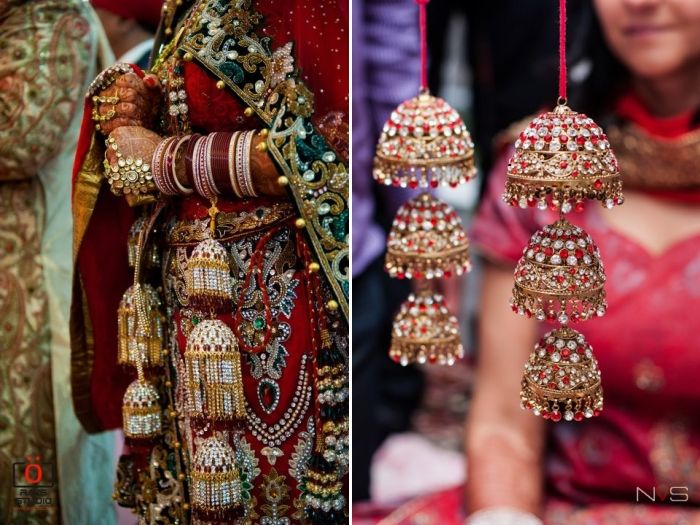 traditional indian wedding kaleere used to wear with bangles on wedding day