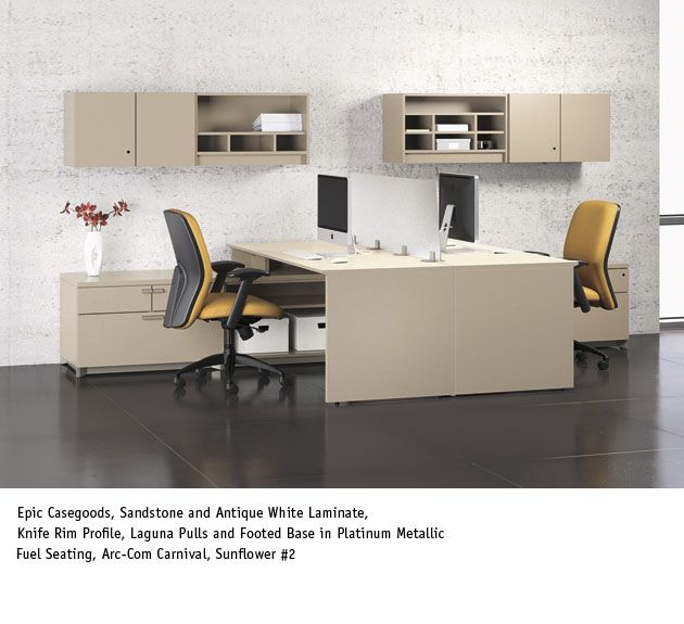 National Office Furniture   Epic Casegoods, With Fuel Task/work Seating In  Collaborative/