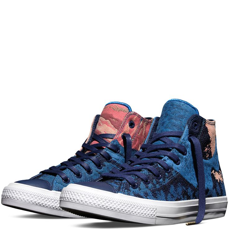 Chuck Taylor All Star II Engineered Canvas Medieval Blue medieval blue