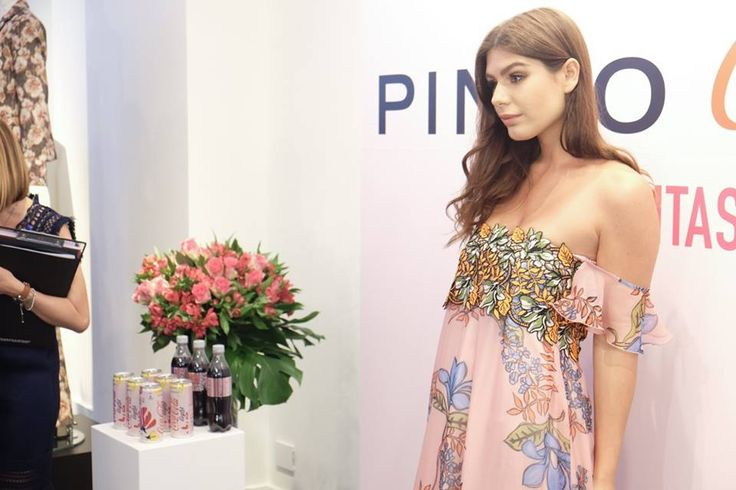 Nima Benati at PINKO and Coca-Cola light #GlamTaste event