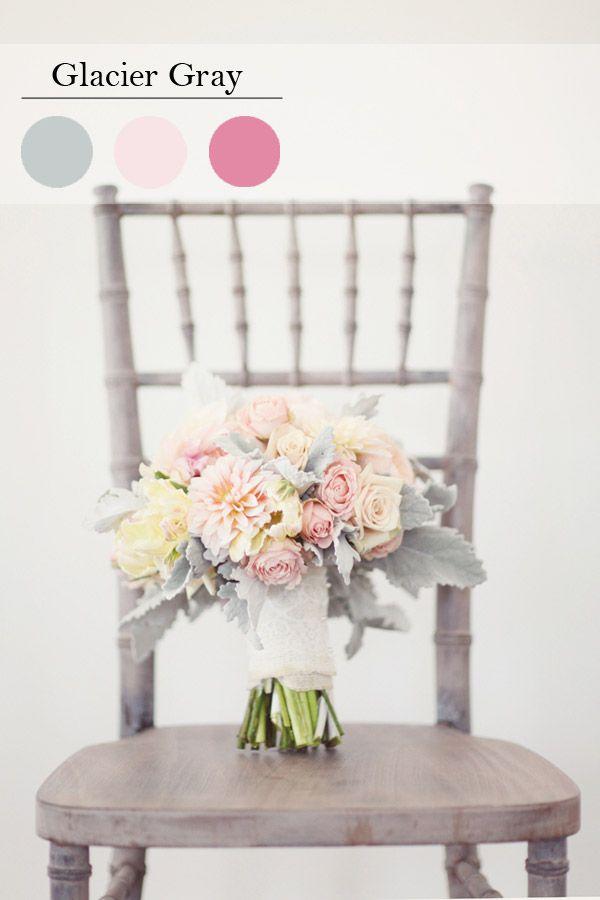 glacier gray wedding color ideas for spring and summer wedding 2015