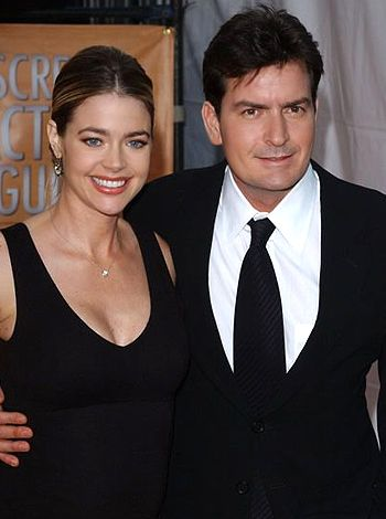Charlie Sheen wants sons to live with ex wife Denise!