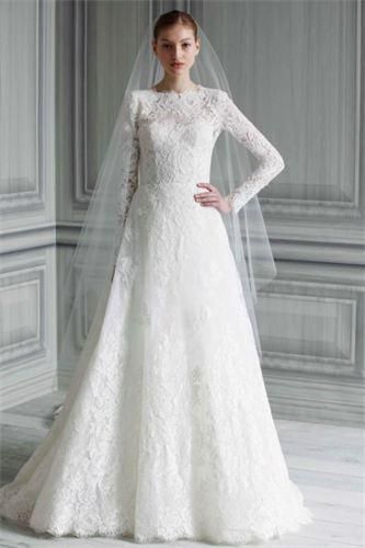 Wholesale Bridesmaid Dresses - Buy 2014 New Arrival Lace Long Sleeve Muslim Islamic Hijab Saudi Arabian Wedding Dress Sharara, $220.71 | DHgate.com