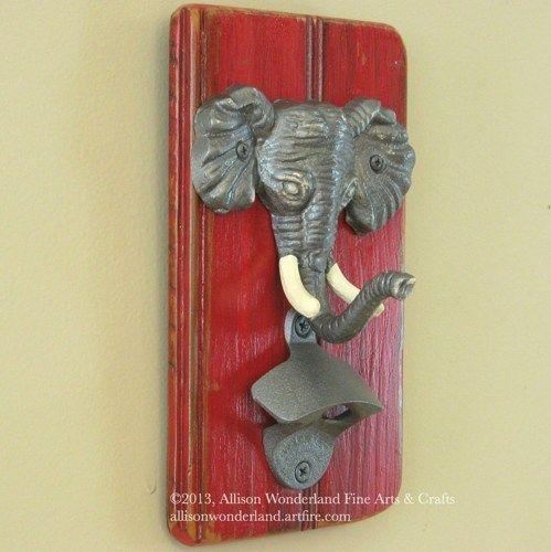 Wall Mounted Alabama Roll Tide Elephant. Alabama RoomAlabama DecorBottle ...