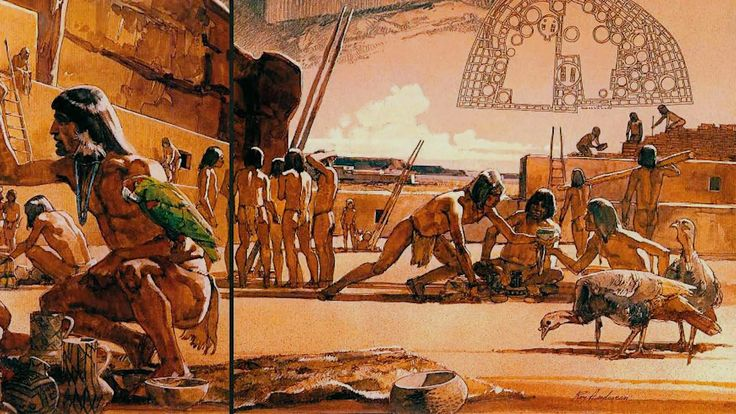 Anasazii - Prima populatie disparuta de pe Terra (Totul Despre Tot)