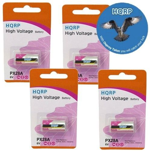 Hqrp 6Volt Battery for 28A, 4MR44, 4NR44, 1406LC, 1406SOP