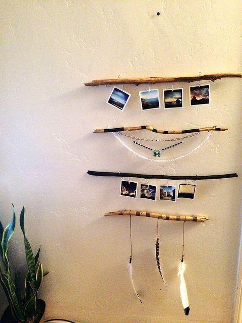 DIY boho driftwood  - finished by janaye.davinshe, via Flickr