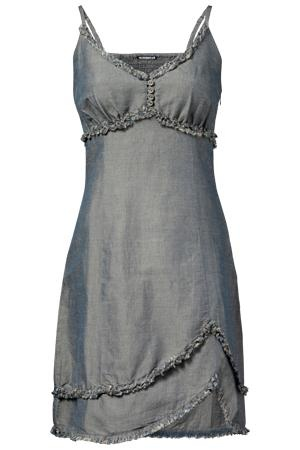 Denim & Frills Western Dress, would be super cute with cowgirl boots ~ Superstar UK