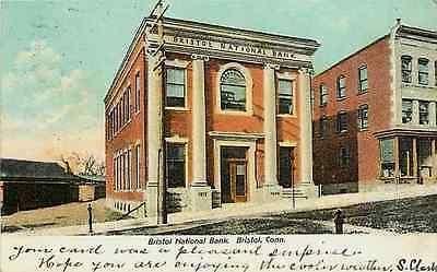 Bristol Connecticut CT 1906 Bristol National Bank Antique Vintage Postcard - Moodys Vintage Postcards - 1