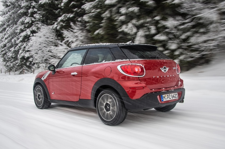 Driving fun to the power of four: MINI continues to expand its all-wheel-drive range.