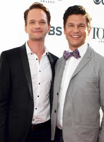 Harris and Burtka are doting dads to young twins, Gideon, a boy, and Harper, a girl.