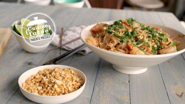 Pad thaï rapide | Cuisine futée, parents pressés