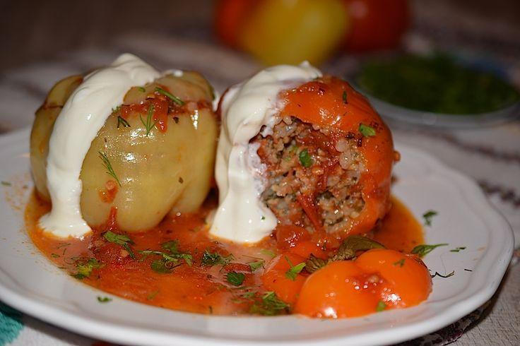 Retete culinare : Ardei umpluti, Reteta postata de Irina in categoria Mancaruri cu carne