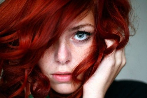 I want red hair like thisHair Colors, Red Hair, Haircolor, Shades Of Red, Blue Eye, Hair Style, Redheads, Redhair, Red Head