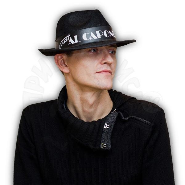 Шляпа с надписью аль капоне