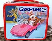 Vintage Aladdin Lunch box Metal Gremlins 1984