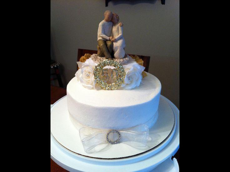Wedding Anniversary Images >> 50th Anniversary cake! | Anniversary Party Ideas | Pinterest | Anniversaries, Wedding stuff and ...