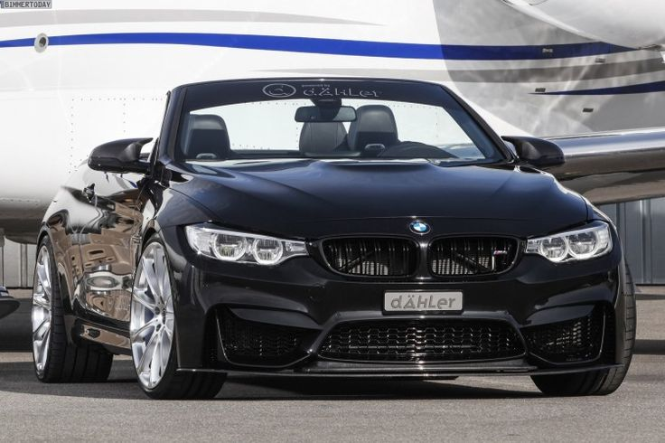D�hler BMW M4 Convertible with power tuning to 540 hp