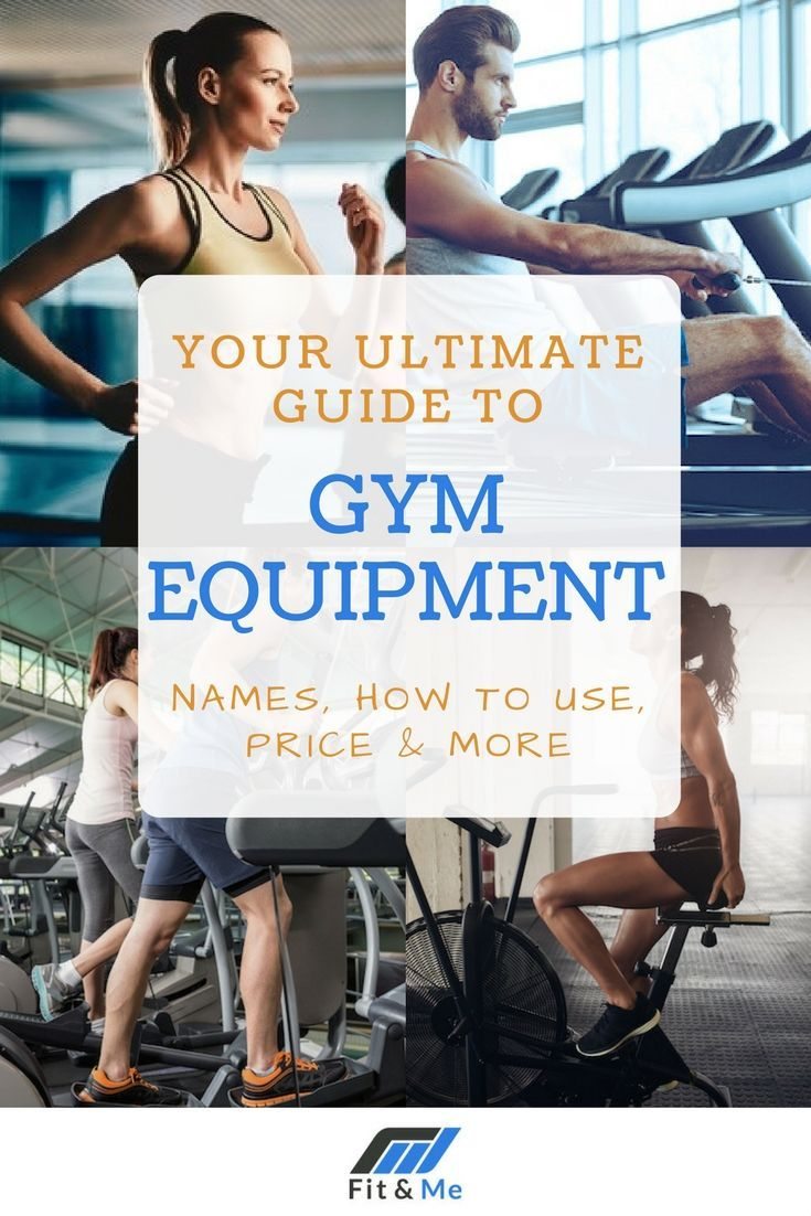 Gym equipment names are confusing and you can sometimes feel more than a little helpless in regards to what does what. We've put this guide together to...