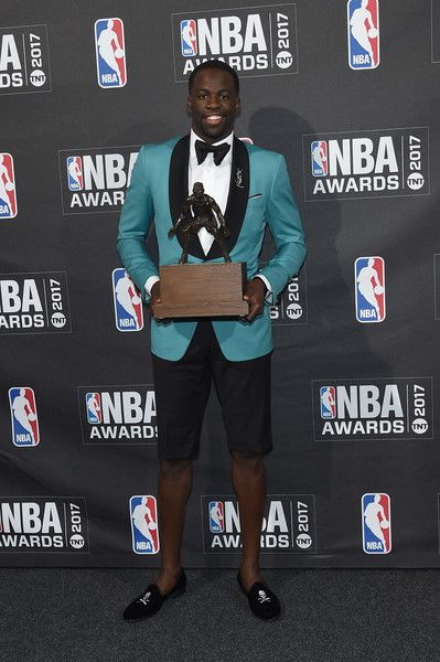 Draymon Green's tux at the 2017 NBA Awards! The shorts were ridiculous!