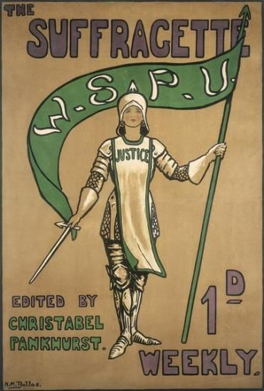Suffragette edited by Christabel Pankhurst. Brave, spirited, indomitable the British suffragettes were led by the formidable Pankhurst family, mothers and daughters devoted to the cause till the tirumphant, hard-fought win.
