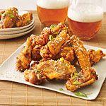 Twice-Fried Chicken Wings Recipe | MyRecipes.com