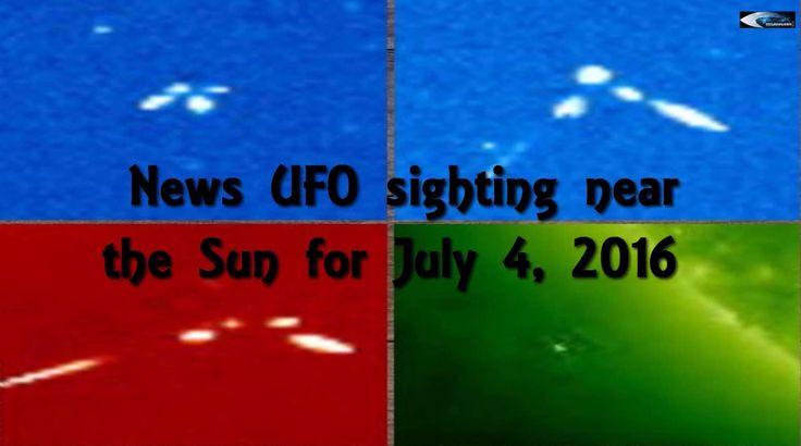 Новости наблюдение НЛО возле Солнца за 4 июля 2016 - 5 Июля 2016 - Наша Планета.Мир вокруг нас