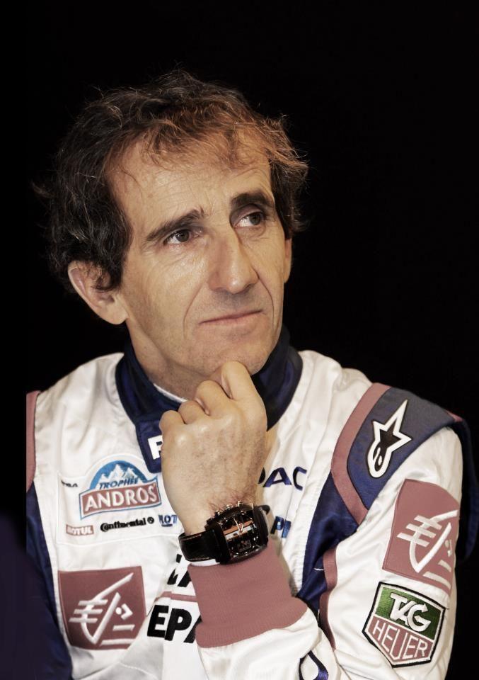 Alain Prost.
