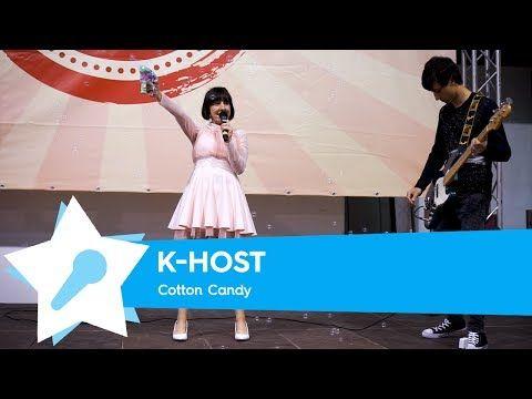 K-Host - Cotton Candy [Live @ Napoli Comicon 2017] - YouTube