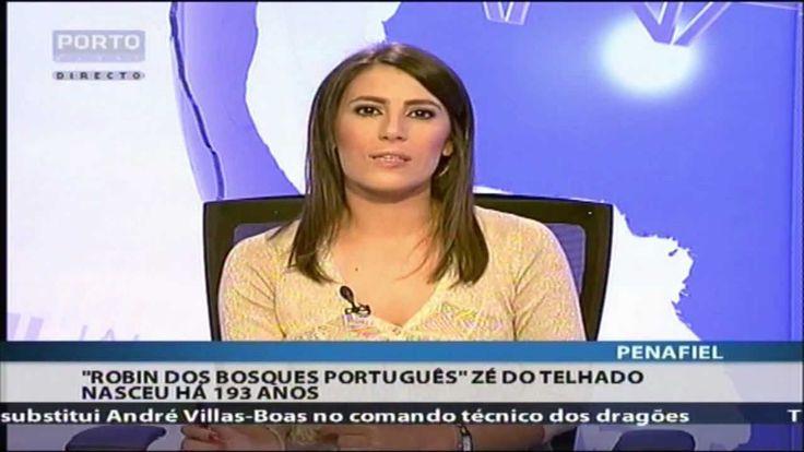 Zé do Telhado reportagem no Porto Canal. Ladrão em Portugal, conhecido como o Robin dos Bosques português, foi preso e deportado para Angola onde se tornou um herói. Está sepultado em Caculama.