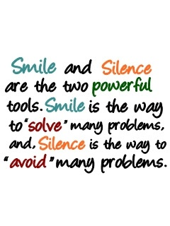 Smile and Silence...