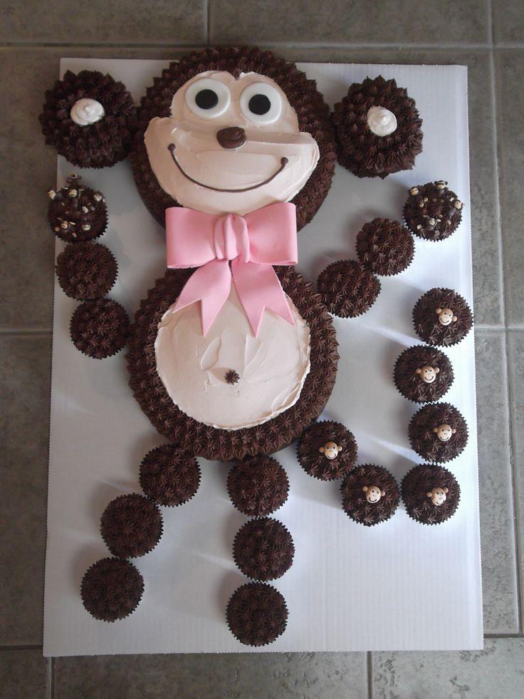 Best 25 Monkey Cakes Ideas On Pinterest Monkey Party