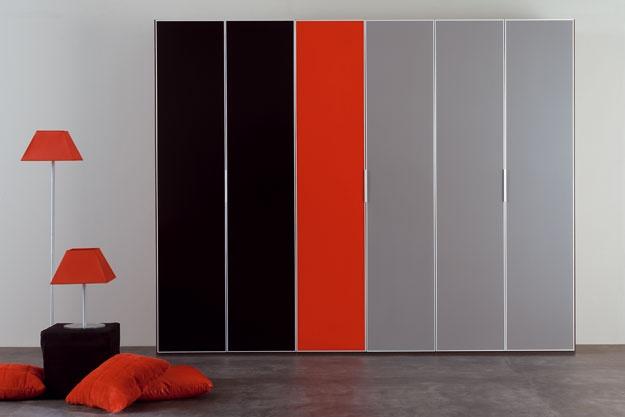 Muebles de dormitorio - Urban Love - Composición 041 - Armarios
