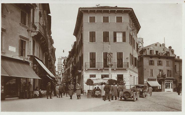 Verona - Via Mazzini anni 40